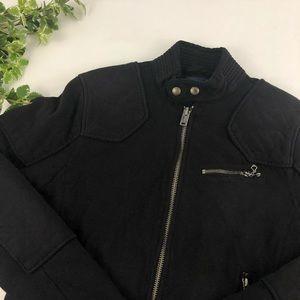 Polo Ralph Lauren Black Zip Up Utility Jacket